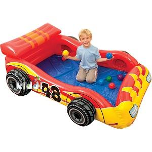 تخت بادی کودک طرح ماشین