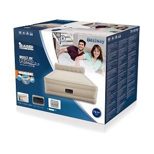 تخت خواب بادی تاج دار با پمپ برقی