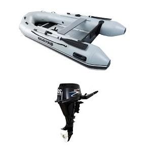 سرعت موتور بنزینی قایق بادی