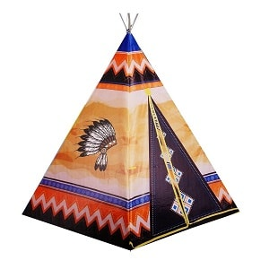 چادر بازی بچه سرخپوستی