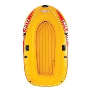 قایق بادی 4 نفره زرد اینتکس