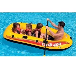 فروشگاه قایق بادی 4 نفره زرد اینتکس